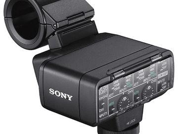 Sony (2) - XLR Adapter Kit with Microphone (Sony XLR-K2M)