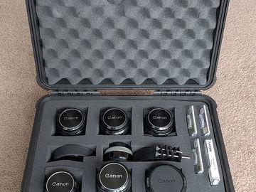 Rent: Canon FD Lens Set