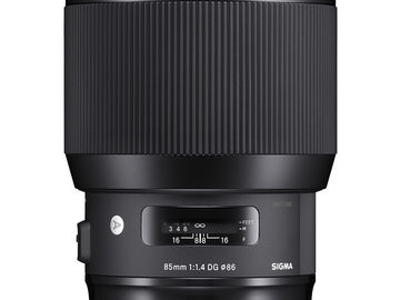 Rent: Sigma 85mm f/1.4 DG HSM Art Lens