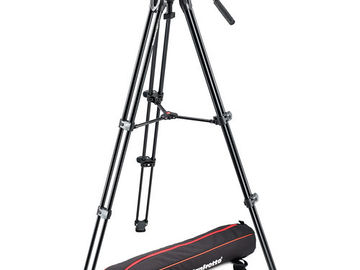Rent: Manfrotto MVH500A Fluid Video Head and Tripod