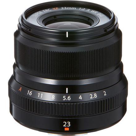 XF 23mm F/2 WR Lens (Black)