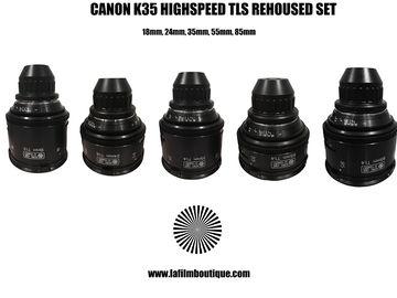 Rent: CANON K35 TLS rehoused Highspeed prime lens set