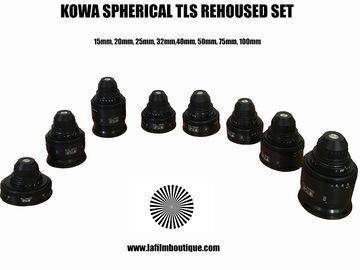 Rent:  Kowa Cine Prominar Spherical Prime Lens Set
