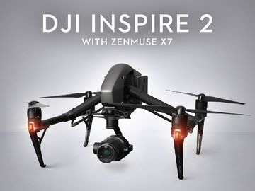 Rent: DJI Inspire 2 with X5 (4k) and X7 (6k)
