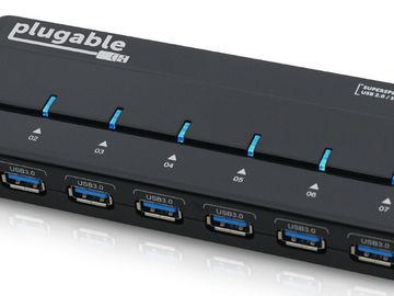 Rent: Plugable USB3-Hub7-81x