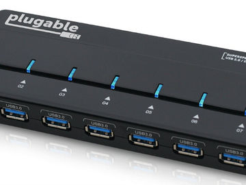 Rent: Plugable USB3-Hub7-81x