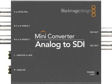 Rent: Analog to SDI Mini Converter