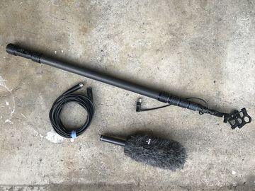 Rent: Rode NTG2 Shotgun Mic + Boom Pool XLR cable