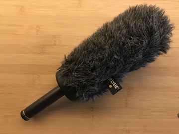 Rent: RODE Blimp Windshield System and NTG-2 Condenser Shotgun Mic