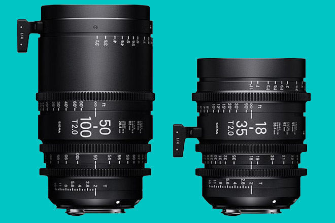 Sigma Cinema Zoom Package 18-35 & 50-100 (EF) T2.0 + NDs