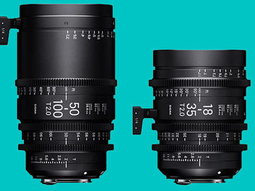 Rent: Sigma Cine Zoom Package 18-35 & 50-100 (EF) T2.0 + NDs