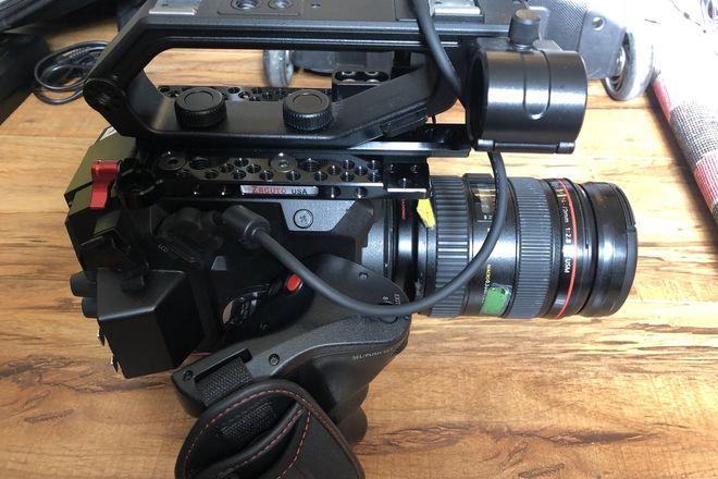 Panasonic EVA1 - Basic Package w/ Tripod & 1 canon lens