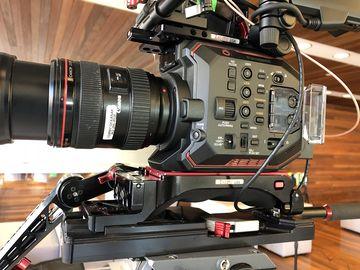 Rent: Panasonic EVA1 w/ Canon zoom Zacuto/SmallHD rig