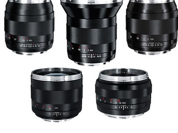 Zeiss ZE Prime Package (Set of 5)