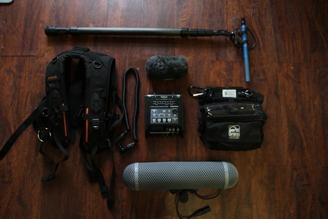 Schoeps + Roland Audio package w/ Carbon Fiber Boom