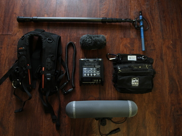 Schoeps + Roland Audio package w/ Carbon Fiber Boom