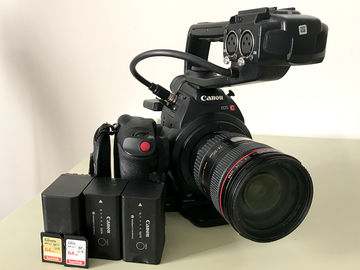[2 of 2] Canon C100 w/ 24-105mm