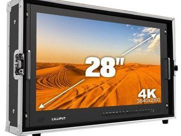 "Rent: Lilliput 28"" 4K SDI HDMI Director Client Monitor"