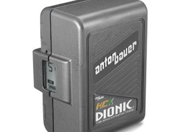 Rent: (x1) Anton Bauer DIONIC HCX Battery
