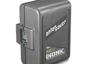 Rent: (x2) Anton Bauer DIONIC HCX Battery
