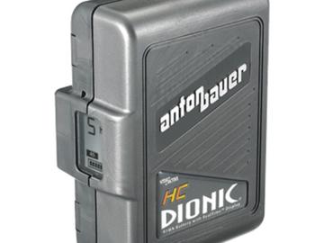 Rent: (x4) Anton Bauer HC Battery