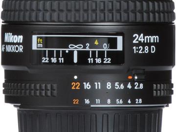 Rent: Nikkor 24mm f/2.8 D