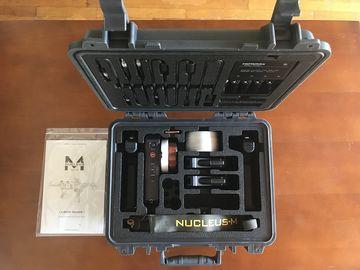Rent: Tilta Nucleus-M Wireless Follow Focus  w/ 2 Handles, FIZ