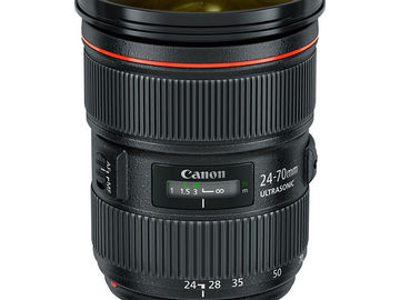 Rent: Canon EF 24-70mm f/2.8l USM II