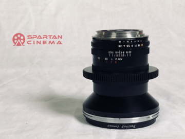 Rent: Zeiss ZF.2 21mm f/2.8 with Duclos Cine-Mod Prime Lens (EF)