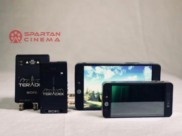 Rent: Teradek Bolt Pro + 2 Monitors (SmallHD 502 + 702 Bright)