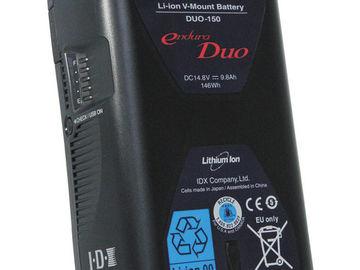 Rent: IDX System Technology DUO 150 V-Mount Li-Ion Battery