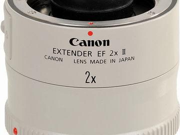 Rent: Canon Extender EF 2x Mark II