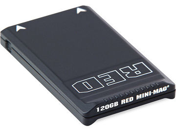 Rent: (2)  RED DIGITAL CINEMA RED MINI-MAGS (120GB)