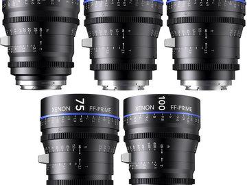 Rent: Schneider XENON FF PL Prime Lens Set