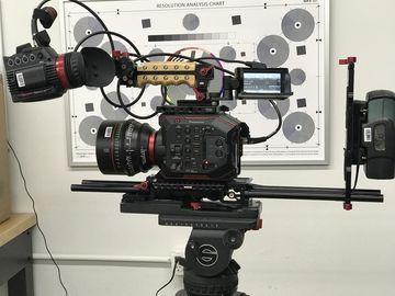 Rent: Panasonic EVA1 (AU-EVA1) 5.7K Super 35mm EF or PL (2 of 2)