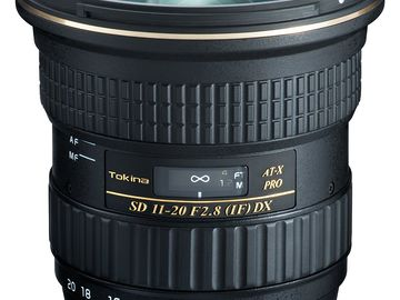 Rent: Tokina AT-X 11-20mm f/2.8 (EF Mount)