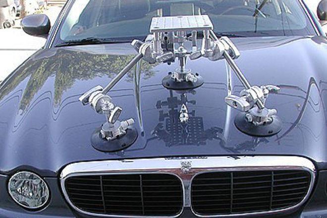 Hood Car Mount Kit w/ Ball Level Head (up to 50 lbs)