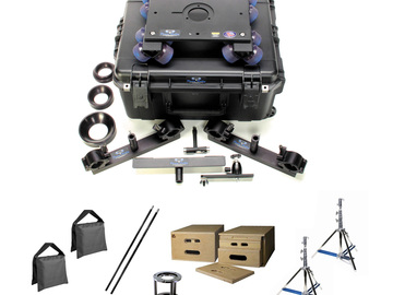 Rent: Dana Dolly DELUXE KIT w/ 6' Track, Stands, Boxes, Riser