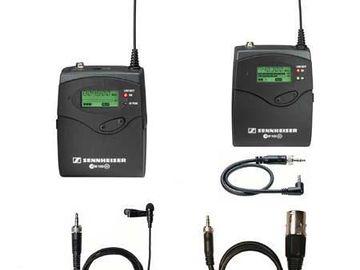 Rent: SENNHEISER EW-112P-G2A Lavalier System