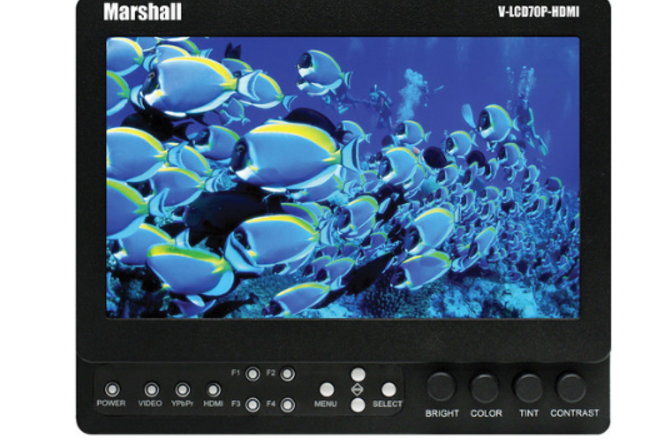 "Marshall 7"" Monitor V-LCD70XP"