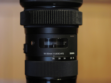 Rent: Sigma 18-35 f/1.8 for Canon EF Mount w/ Follow Focus Ring