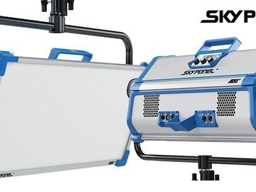 Rent: [KITx2]ARRI S60-C SkyPanel with remote and softbox and frame