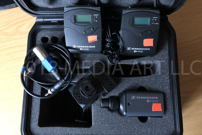 Sennheiser ew 100 ENG G3 Wireless kit & Plug-On Transmitter