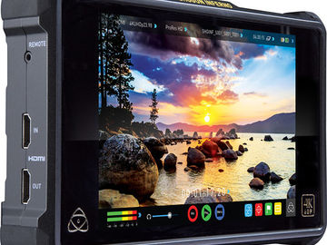 "Rent: Atomos Shogun Inferno 7"" 4K Recorder w/ AKS & Media"