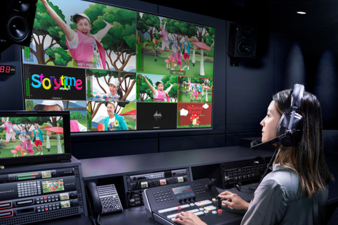 Rent A Blackmagic Atem Television Studio Pro 4k Live Switcher Best Prices Sharegrid Los Angeles Ca