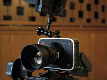 Rent: Blackmagic 4k Production Camera EF Mount Package