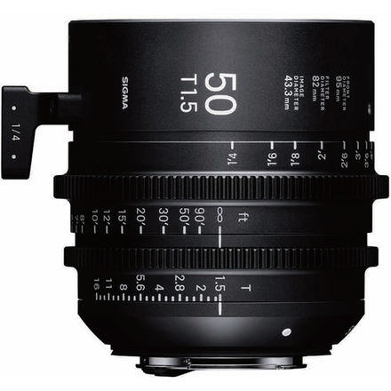 Sigma 50mm T1.5 FF High-Speed Prime (PL Mount, Feet)