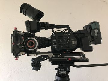 Rent: Complete Sony FS7  w/ Shoulder Mount and Tripod