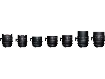 Rent: Any Four (4) Sigma Cine FF High-Speed Primes (PL, Feet)