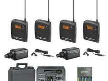 Rent: 2 Senheiser ENG 100 Wireless lavs